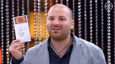 'Too high' ... George Calombaris as a judge on MasterChef.