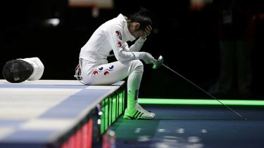 South Korea's Shin A-Lam waits for her appeal to be determined.