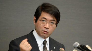 Suspected suicide: Yoshiki Sasai in April.