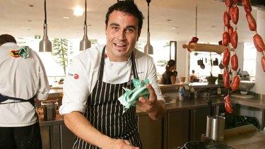 Miguel Maestre in the kitchen at El Poco Loco at Manly.