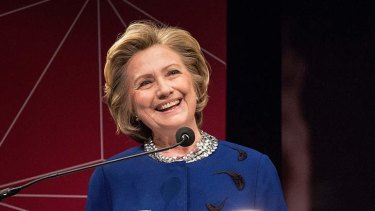 Ambitious: Hillary Clinton is ''a woman who believes she should be president''.