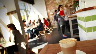 The Coin Laundry cafe in Armadale.