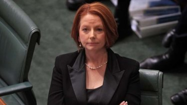 Julia Gillard ... under pressure.