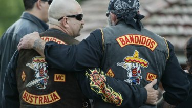 A police email circulated around the force states that the Bandido gang has now 'declared war' on the powerful Hells Angels.