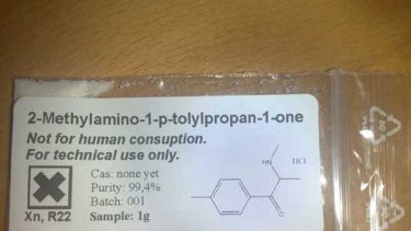 """Mephedrone, street name """"Miaow Miaow"""", is sold online as an amphetamine substitute."""