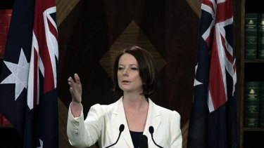 Prime Minister Julia Gillard says she's better able to conduct an inclusive style of politics.