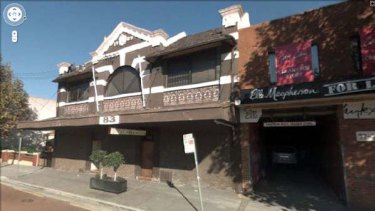 The gay sex club in Kensington that David Campbell allegedly visited.