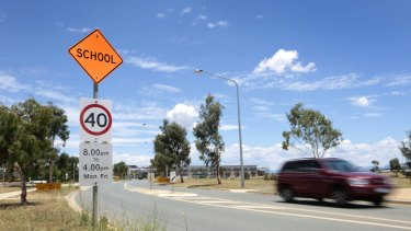 The president of the national body for pedestrian safety is calling for standardised speeds in school zones across the country.