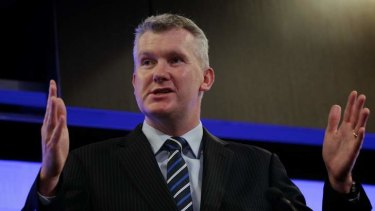 "Tony Burke ""would not give an inch"" to further port developments."