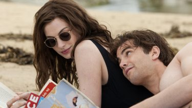 Same time next year: Anne Hathaway and Jim Sturgess play friends whose rocky relationship is revisited on the same day each year in <i>One Day</i>.