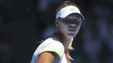 Alicia Molik bows out yesterday.