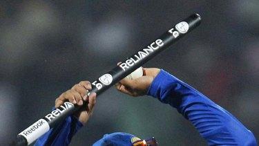 Tillakaratne Dilshan celebrates after Sri Lanka defeated Zimbabwe.