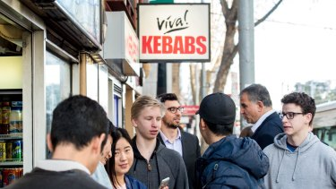 The crowds at Viva Kebabs just keeps on growing.