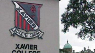 Xavier College in Melbourne.