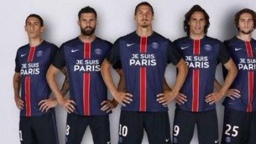 new arrival 78931 1d817 Paris Saint-Germain to wear 'Je Suis Paris' on jerseys to ...