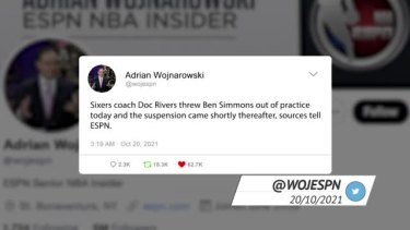 Social media was abuzz when news broke that 76ers coach Doc Rivers kicked out Ben Simmons from the team's practice.