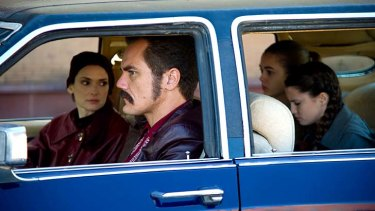 Eclectic career: Winona Ryder playing opposite <em>Boardwalk Empire's</em> Michael Shannon in the new film <em>The Iceman</em>.