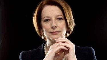 Inspiring: Former prime minister Julia Gillard.
