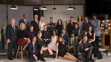 The Cast of the CBS series The Bold and the Beautiful.