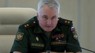 Lieutenant-General Andrei Kartopolov.