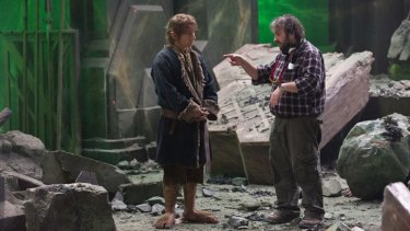 Thanks a lot Australia ... Kiwi director Peter Jackson says his film was almost made in the home country of <i>The Office</i>'s Martin Freeman.