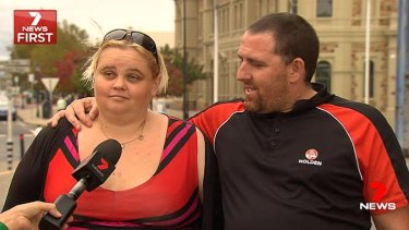 Maxine Spratt and her partner defended her Facebook comments on Tuesday.