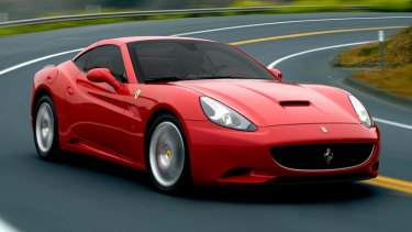 'Visual identity' ... Ferrari's California.