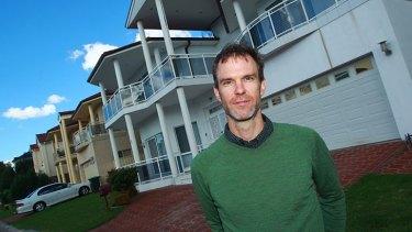 Mathieu Gallois ...  wants to rebuild houses.