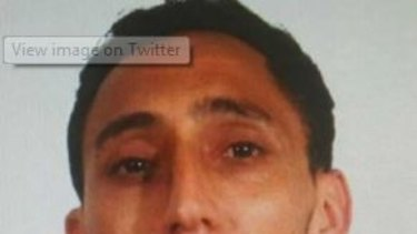 Spanish media have published this photo of a man they name as Driss Oukabir who they say is the man police arrested earlier.