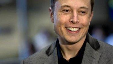 Ambitious plan: billionaire Elon Musk.