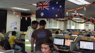G'day ... an Australian flag hangs in the Stellar office.