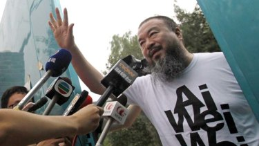 Billed ... Chinese activist artist Ai Weiwei has received $804,000 in donations from 18,829 supporters.