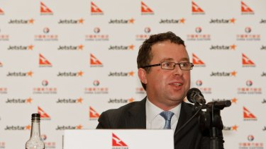 Qantas boss Alan Joyce says: 'For us these are low capital cost investments for huge growth potential.'