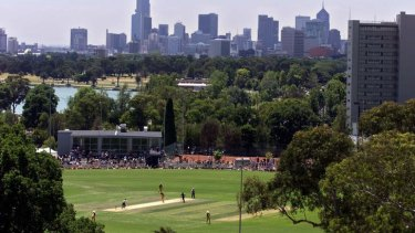 Game changer: More development is slated for Albert Park.