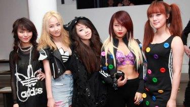 K-pop supergroup Wonder Girls.
