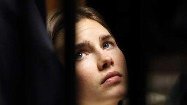 """Amanda Knox ... """"shocked and anguished""""."""