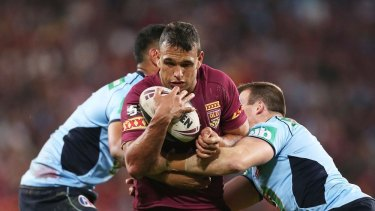 Restructure: State of Origin may be headed for a revamped schedule.