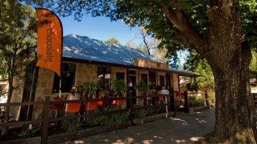 The quaint Chocolate @No. 5 is located in the Adelaide Hills.