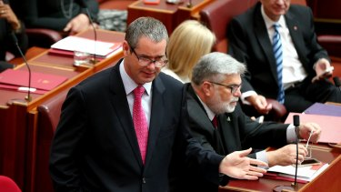 With little excitement coming from the Senate debate on the ABCC, Senator Stephen Conroy's comments criticising the Governor-General attracted some ire.