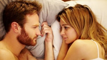 Kate Mulvany and Damon Herriman in <i>The Little Death</i>.