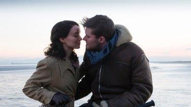 Rooney Mara as Rose and Jack Reynor as Michael McNulty in The Secret Scripture.