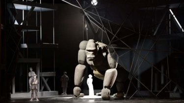 A scale model for King Kong.