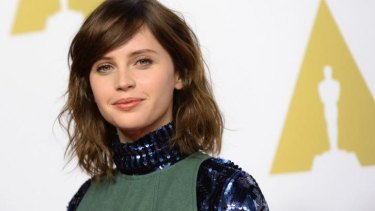 Following in Princess Leia's footsteps: British actress Felicity Jones is the only confirmed actor signed on for Disney's new Star Wars film, <em>Rogue One</em>.