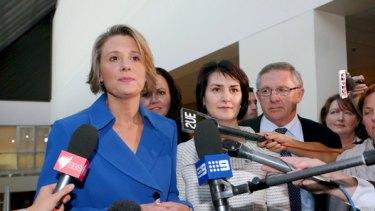 Kristina Keneally and Carmel Tebbutt are the first all-woman leadership team in Australian politics, but Keneally's premiership is already under attack.