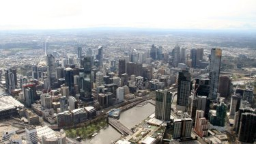 In Melbourne, the predicted 5 per cent growth is also a slowdown, but less of a fall given that city's more-modest 11.5 per cent increase in house prices over the past year.