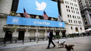 Twitter frenzy: The social network made its market debut.