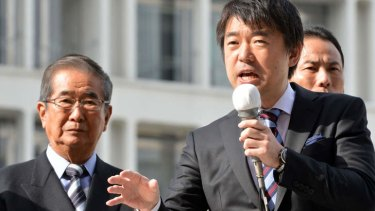 Controversial: The comments of Osaka Mayor Toru Hashimoto about comfort women and sex workers have caused outrage.