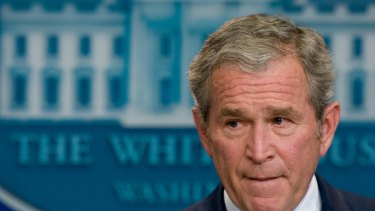 The CIA first briefed then president Bush on enhanced interrogation techniques in April 2006, according to the torture report. Cheney, who served as his vice president, says Bush knew of and approved the torture.