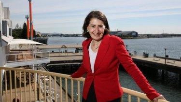 """Ongoing improvements"": Transport Minister Gladys Berejiklian."