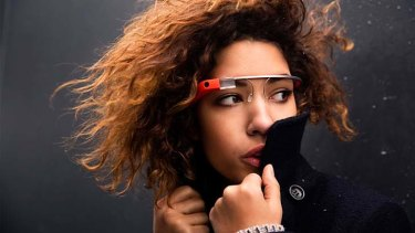 Google Glass: giving a glimpse of future fitness trends.